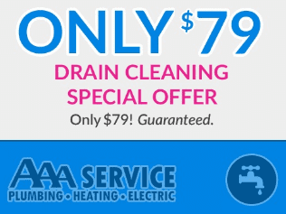 $79 Drain Cleaning Special Offer